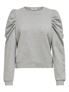 Only sweater ONLDIDA L/S PUFF SWEAT 15208600 LIGHT GREY MELANGE