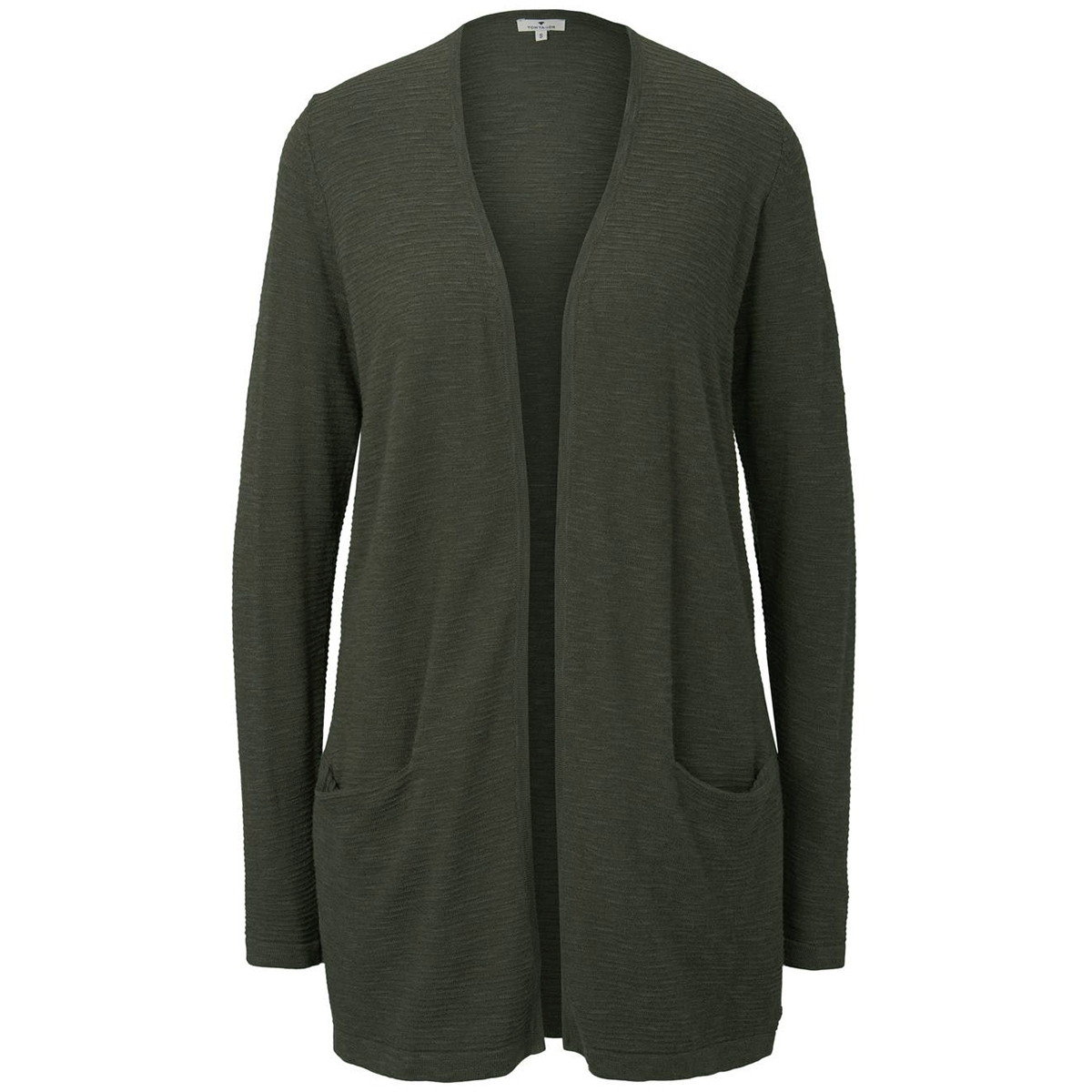 lang getextueerd vest 1018577xx70 tom tailor vest 10373