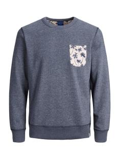 Jack & Jones sweater JORPEDRO SWEAT CREW NECK 12171676 NAVY BLAZER