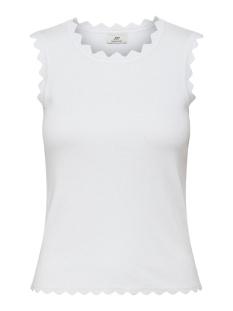 Jacqueline de Yong Top JDYDELILAH S/L TOP KNT DENIM 15200523 Bright White