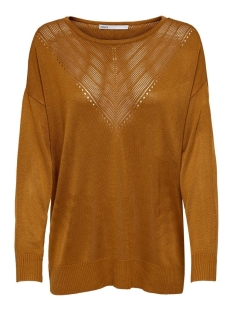 Only Trui ONLKATHLEEN L/S PULLOVER CC KNT 15206724 Pumpkin Spice