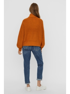 nmtommy l/s high neck knit sp 27011792 noisy may trui inca gold