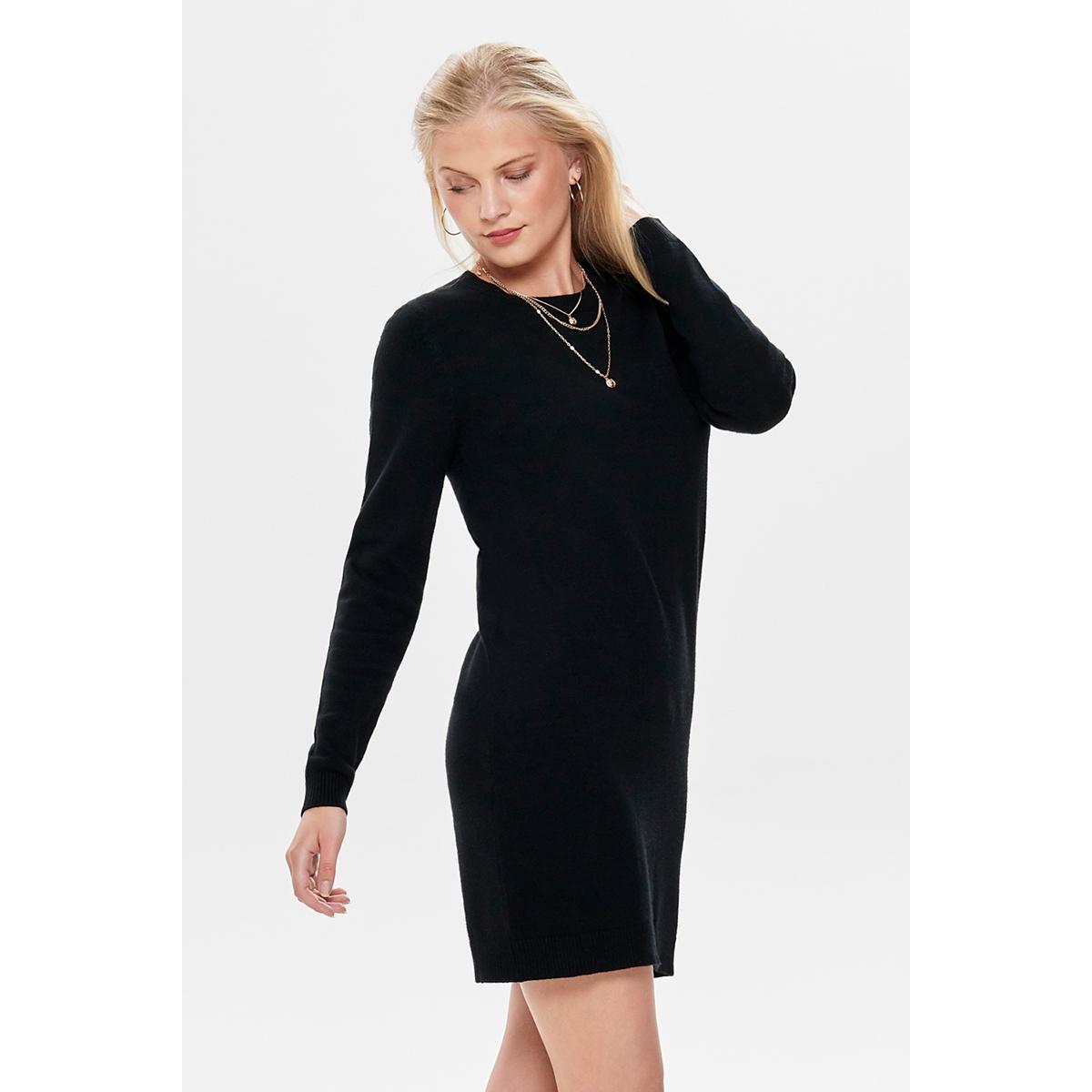 jdymarco l/s dress knt noos 15184977 jacqueline de yong jurk black