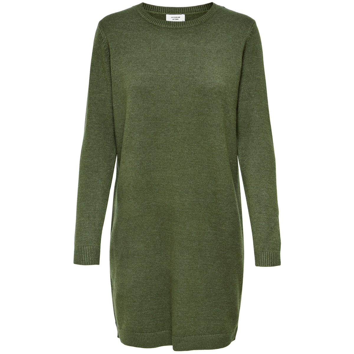 jdymarco l/s dress knt noos 15184977 jacqueline de yong jurk forest night/melange