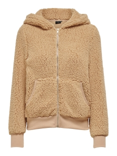 Only Vest ONYFINESSA L/S ZIP HOOD BOMBER SWT 15214744 Cuban Sand