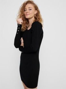 Only Jurk ONLAVY L/S DRESS KNT 15210970 Black