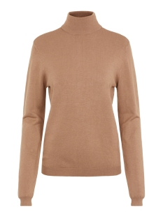 Pieces Trui PCESERA LS ROLLNECK KNIT NOOS 17106004 Natural/CP