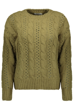 ONLCHANET L/S PULLOVER KNT 15210753 Martini Olive