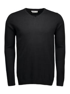 JjprLucas Knit V-Neck 12092895-1 black