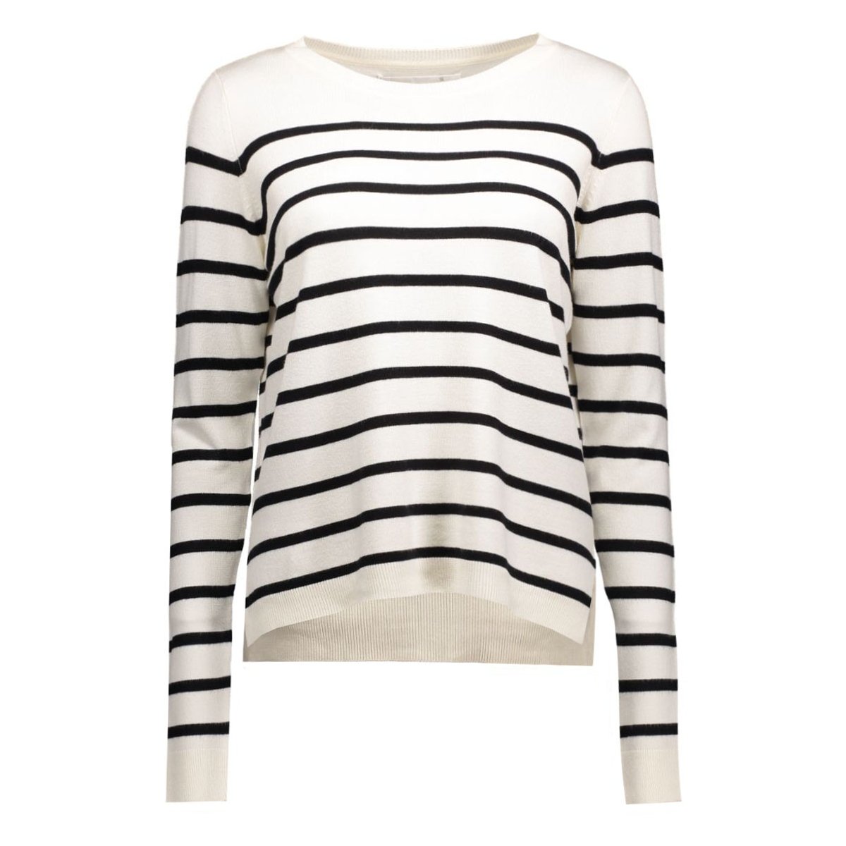 onlmila stripe pullover 15110935 only trui cloud dancer