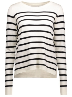 Only Trui onlMila Stripe Pullover 15110935 cloud dancer