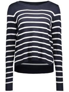 onlmila stripe pullover 15110935 2 only trui night sky