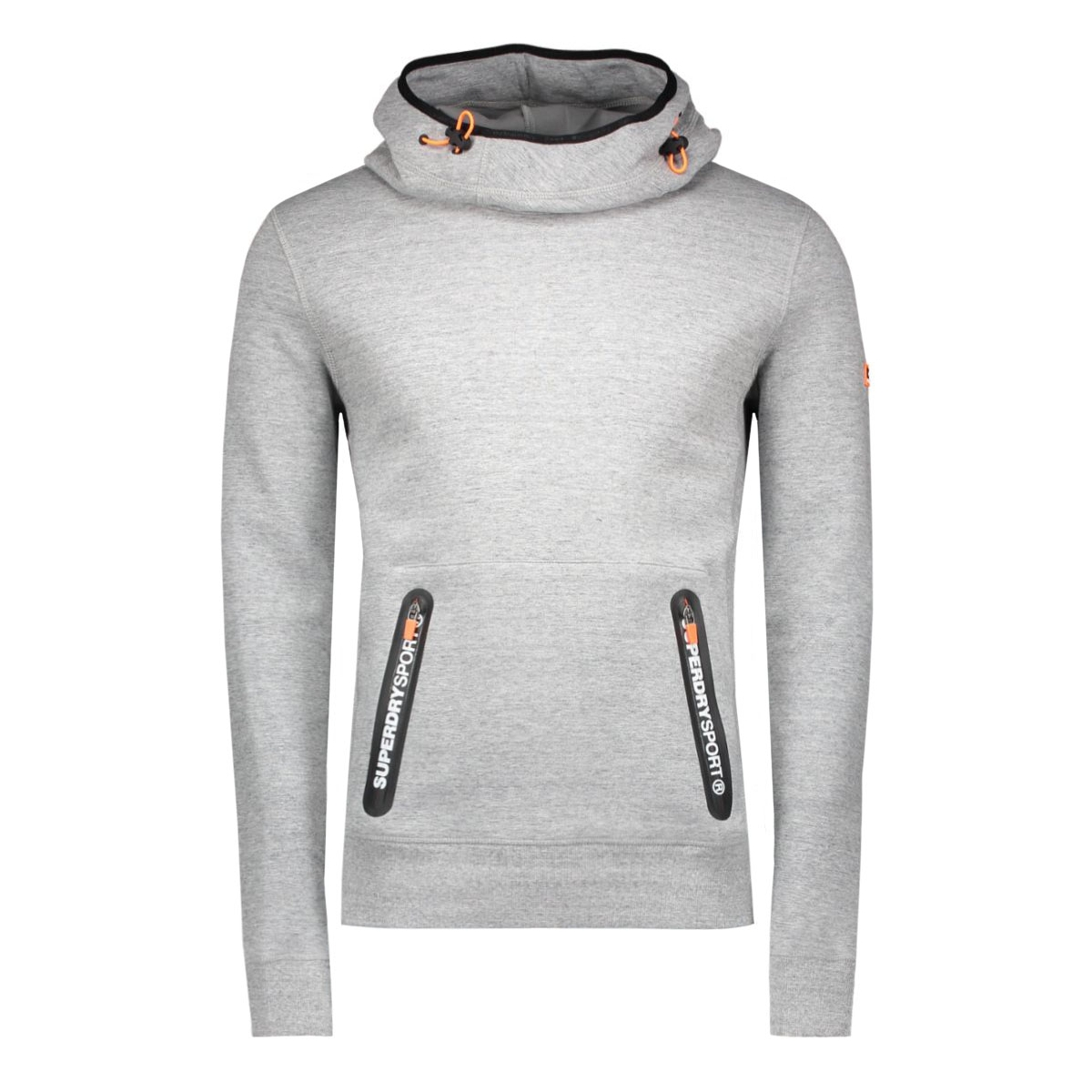 m20003pm superdry sport trui grey grit