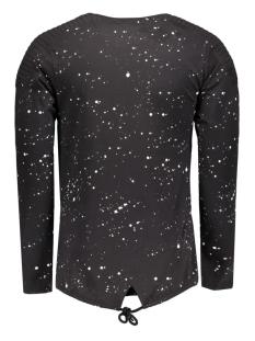 4008 gabbiano t-shirt zwart