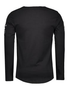 5383 gabbiano t-shirt zwart
