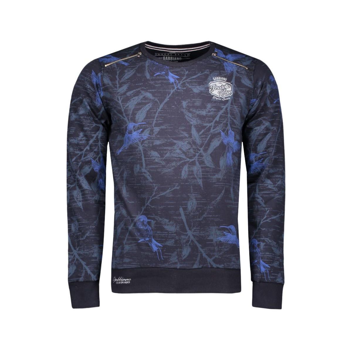 5378 gabbiano sweater navy