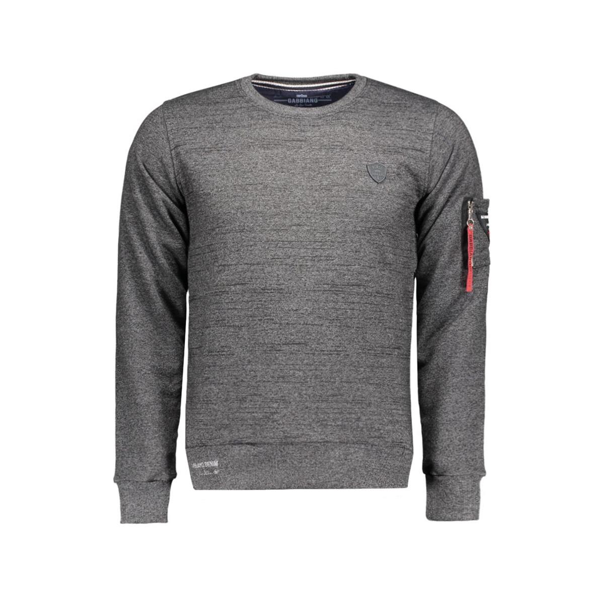 5513 gabbiano sweater zwart