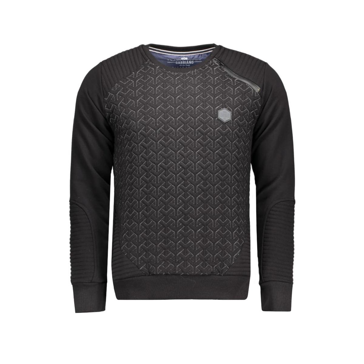 5406 gabbiano sweater zwart