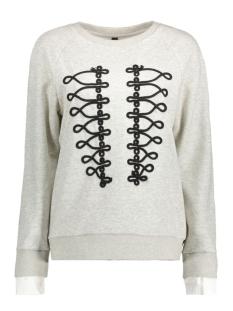 16wi815 10 days sweater light grey melee
