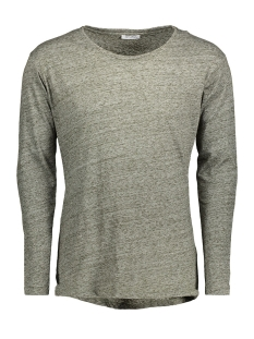 Key Largo T-shirt LS00189 LS IRON ROUND 1514 Olive