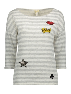 Key Largo Sweater WSW00003 1107 Silver