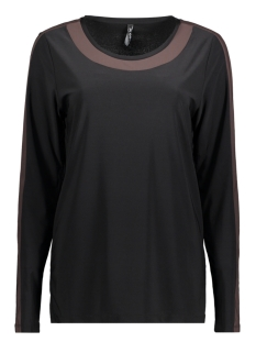 Zoso T-shirt BONNY BLACK/BROWN