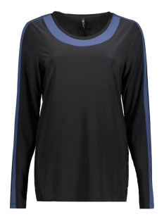 Zoso T-shirt BONNY BLACK/BLUE