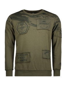Gabbiano Sweater 76132 ARMY