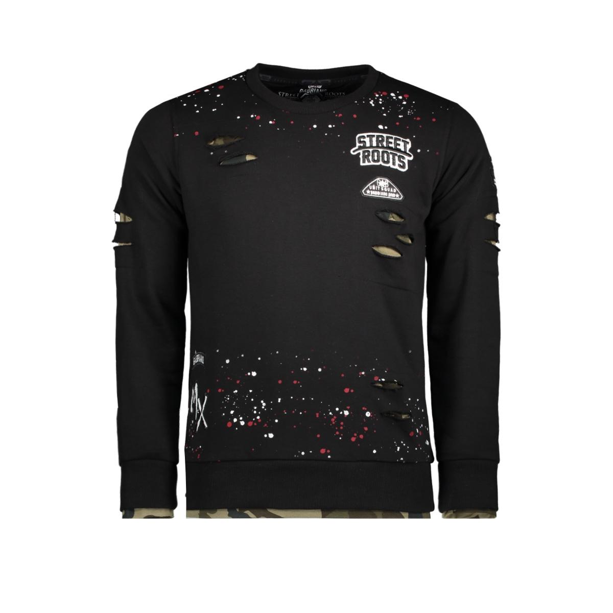 76108 gabbiano sweater black