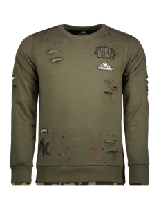 Gabbiano sweater 76108 ARMY