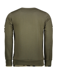 76108 gabbiano sweater army