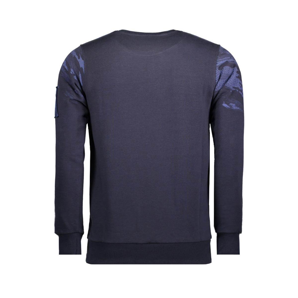 76132 gabbiano sweater navy