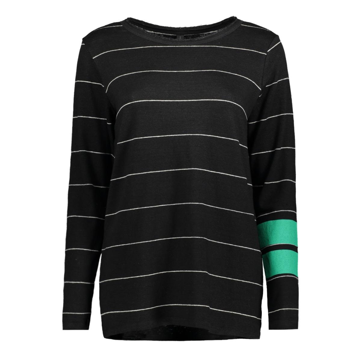 longsleeve tee thin 20 782 8103 10 days t-shirt black/bone
