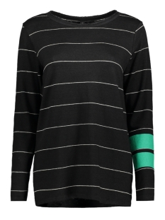 10 Days T-shirt LONGSLEEVE TEE THIN 20 782 8103 BLACK/BONE