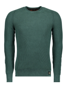 Superdry Trui M61013NR GARMENT CREW UP7 Washed Forest