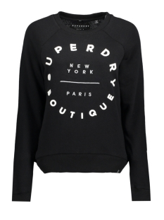 Superdry Sweater G20016PP 02A BLACK