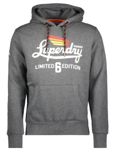 Superdry Sweater M20655NR CHARCOAL BIRDSEYE