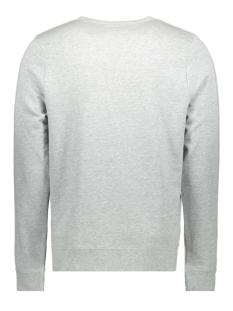 mu100421 haze & finn sweater light grey melange