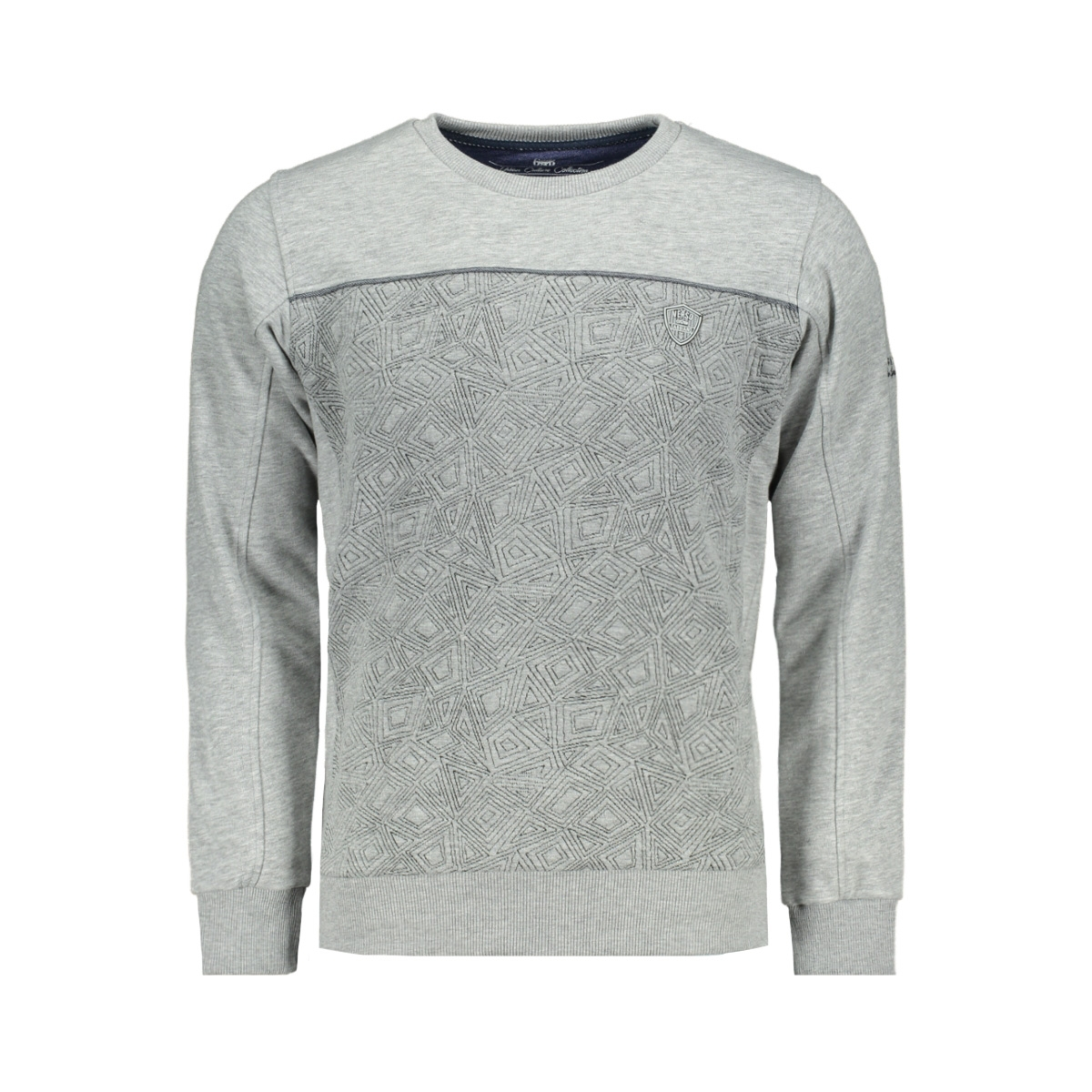 76110 gabbiano sweater grey