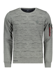 Gabbiano sweater 5513 GRIJS