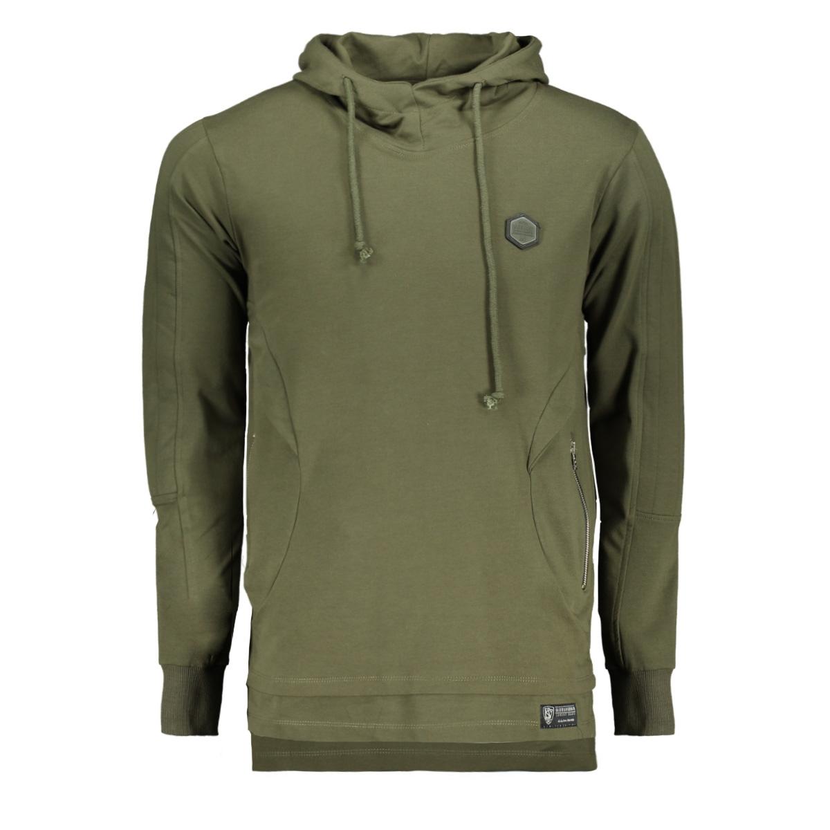 76124 gabbiano sweater army