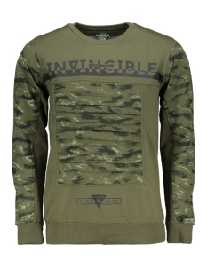 Gabbiano sweater 76121 ARMY
