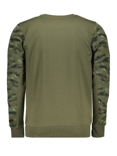 76121 gabbiano sweater army