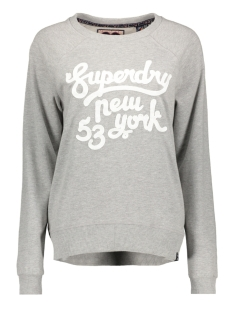 g20997yr superdry sweater folk grey marl