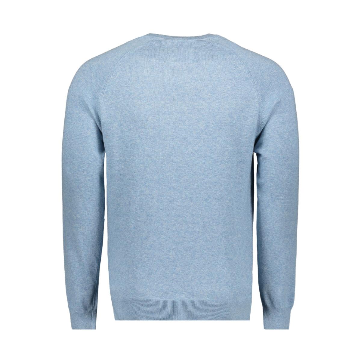 m61101gt cotton crew superdry trui parched blue grit