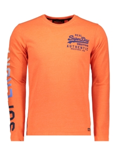 m60105st superdry sweater radiant orange