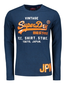 Superdry T-shirt M60990NT Teal Grit