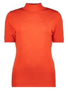Zoso Trui KN1908 KNITTED TURTLENECK ORANGE RED
