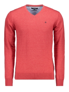 Haze & Finn Trui KNIT V MC11 0200 ROCOCCO RED
