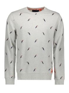 Superdry sweater M20101ET VINTAGE SILVER MARL